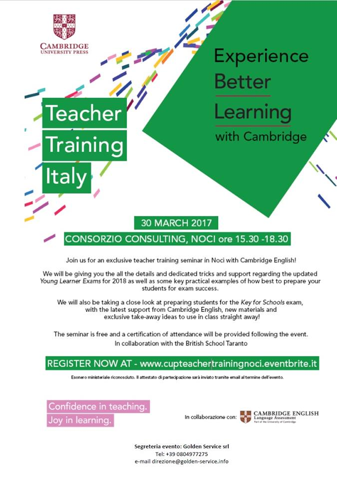 Teacher Trainign Italy